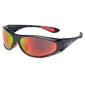 Bolle Spiral Polarized TNS Fire Oleo AF Sunglasses - Shiny Black/Red Used - Very Good £17.54 delivered Amazon warehouse