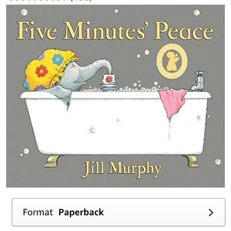Five minutes peace book £2.09 Prime / £4.08 Non Prime @ Amazon