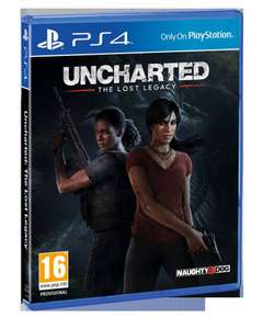 Uncharted Lost Legacy £14.99 this Friday instore @ HMV