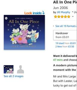 All in one piece children's book
