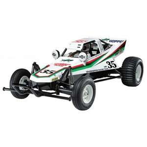Tamiya The Grasshopper RC model and starter kit £119.68 delivered with code @ Eurcarparts