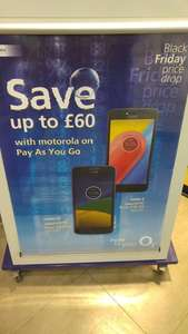 Motorola Moto G5  £89.99 and Motorola C for £39.99 Pay&GO Black Friday Deal @ O2