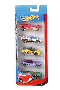 Hot Wheels 5 Vehicle Pack (Pack may vary) Add-on item £3.48 @ Amazon