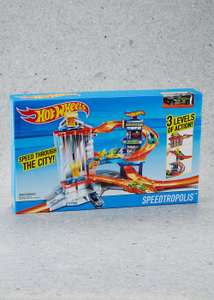 Hot Wheels Speedtropolis Race Track @ MATALAN   FREE C&C
