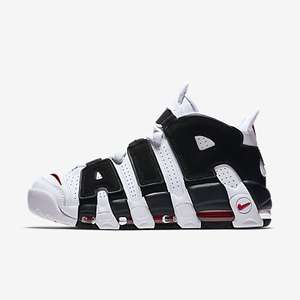 NIKE AIR MORE UPTEMPO Sizes 11 and above £61.23 delivered @Nike.com using supplied code (RRP 139.95)