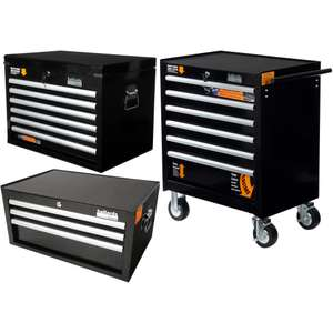 Halfords Industrial 3 Piece Cabinet Bundle - £399 @ Halfords