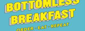 Ed's Easy Diner Bottomless breakfast (all breakfast menu items)
