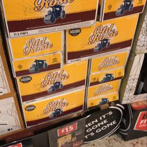 Weston's Old Rosie 10L (17.6 pints - 7.3%) cider box - £15 Morrisons (Bristol)