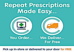 Prescription delivered to your House or place of work free @ Co-Operative Pharmacy