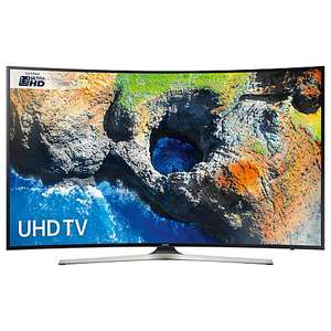 "Samsung UE49MU6220 Curved HDR 4K Ultra HD Smart TV, 49"" with TVPlus WITH 5 YEARS GUARANTEE @ johnlewis for £499"