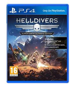 Helldivers Super-Earth Ultimate Edition (PS4) - £8.65 Prime @ Sold by bid2win-ltd and Fulfilled by Amazon.