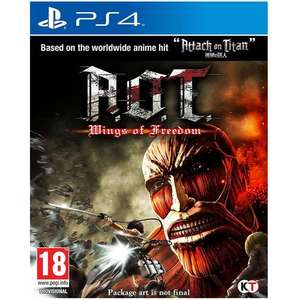 A.O.T. Wings of Freedom (Sony PS4) - £18.99 @ My Memory (using vc5 code)