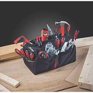 Forge Steel Hand Tool Kit 55 Piece Set at Screwfix for £22.49