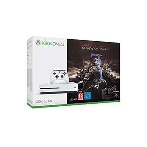 Xbox One S 500GB with Shadow of War from German Amazon for £163.55