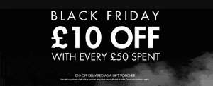 BLACK FRIDAY - SPORTSDIRECT £10 BACK FOR £50 SPEND