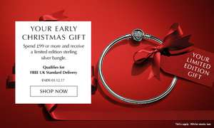 BLACK FRIDAY PANDORA - spend £99, get a limited edition bangle