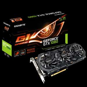 Gigabyte GeForce GTX 1080 G1 ROCK £469.97 @ Ebuyer