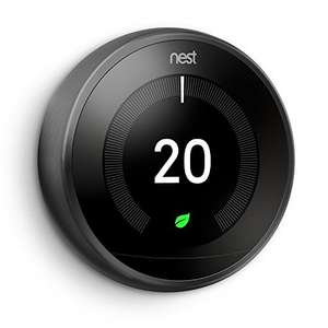 Nest Thermostat - copper, black and silver down to £149.99 at Amazon