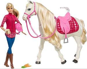 Barbie Dream Horse & Doll £44.48 Amazon Deal Of the Day