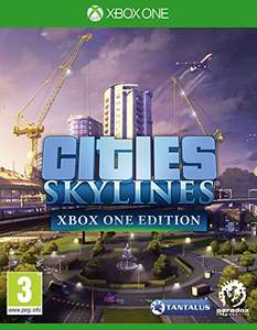 Cities Skylines Xbox One at Amazon for £21.48
