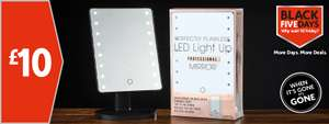 LED Light up professional Mirror for £10 @ Morrisons instore part of the Black Friday Event