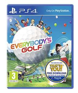 Everybody's Golf (PS4) - Reduced to £15.99 Prime (£17.98 non-Prime) @ Amazon