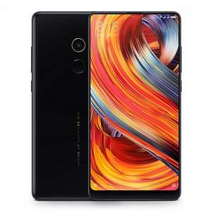 Xiaomi Mi Mix 2 5.99 Inch 4G LTE Smartphone 6GB 64GB 12.0MP Cam Snapdragon 835 Octa Core Android 7.1 NFC VoLTE Four-sided Curved Ceramic Body - Black - £356 @ Geekbuying