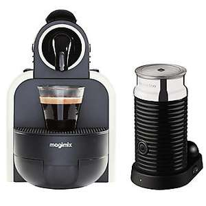 Nespresso Magimix Essenza M100 Automatic Coffee Machine With Frother - £64.99 @ Lakeland
