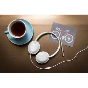PHILIPS SHL4405WT Headphones - White £11.99 @ Currys