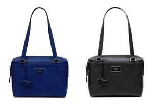 Radley Upto 50% Off Black Cyber Monday eg Radley Kenley Common Medium Zip Top Tote Handbag in Blue or Black (was £189) Now £85.50 delivered w/code