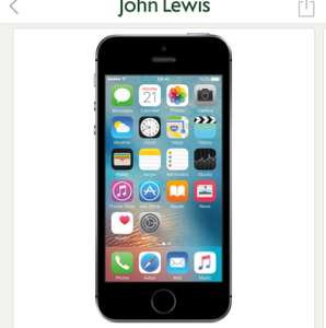 iPhone SE 32Gb now £269 @ John Lewis