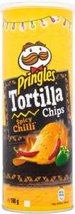 Pringles Tortilla Chips Varieties as stocked (160g) Only £1.00: Save £1.00 @ Sainsbury's