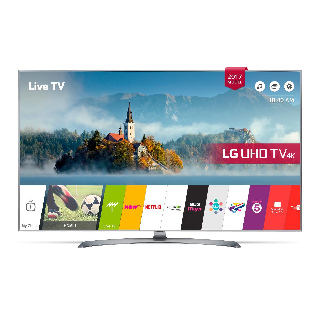 LG-49UJ750V 4K TV - £549 @ Hughes instore