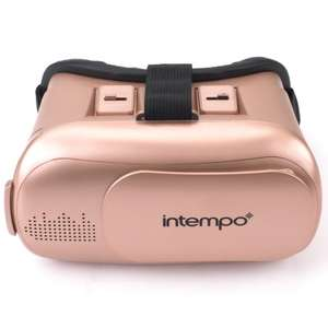 Intempo 3D VR Headset - Rose Gold or Black (RRP £19.99 now £7.99) @ B&M