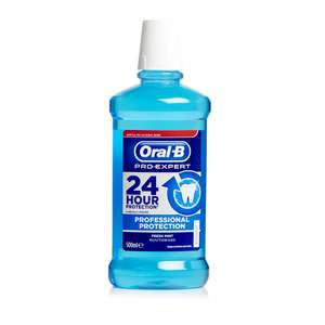 Oral-B Mouthwash Pro Expert Professional Protection 500ml £1 at Poundstretcher