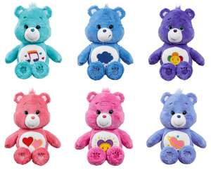 Care Bears Medium Soft Toy With DVD (6 to Choose From List in O.P.) Half Price £10 C+C The Entertainer