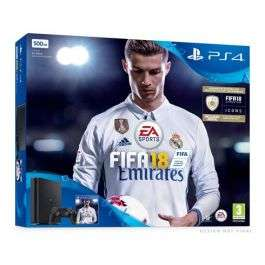 PlayStation 4 500GB with  fifa 18 - £219.99 at  Go2Games