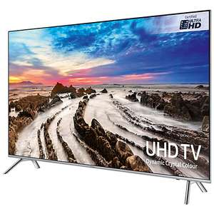 "Samsung UE55MU7000  4K Ultra HD Smart TV, 55"" £799 @ John Lewis - with FREE Samsung HW-M360 Sound Bar with Subwoofer"