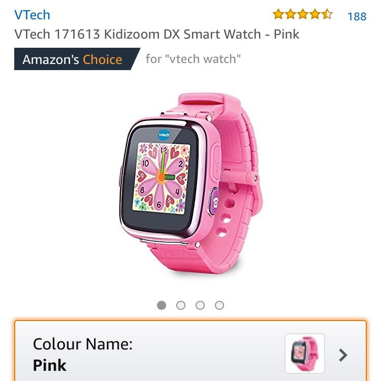Kiddizoom smart watch £30.00Amazon