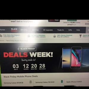 MobilePhonesDirect Black Friday sale