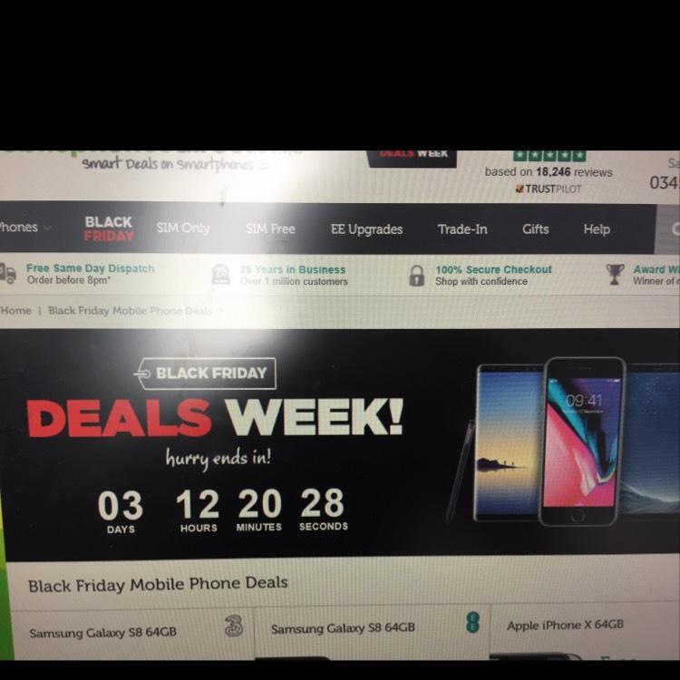 MobilePhonesDirect Black Friday sale