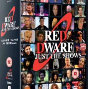 Amazon Deal Red Dwarf Box Set Just The Shows DVD £13.16 (Prime) / £15.15 (non Prime) at Amazon