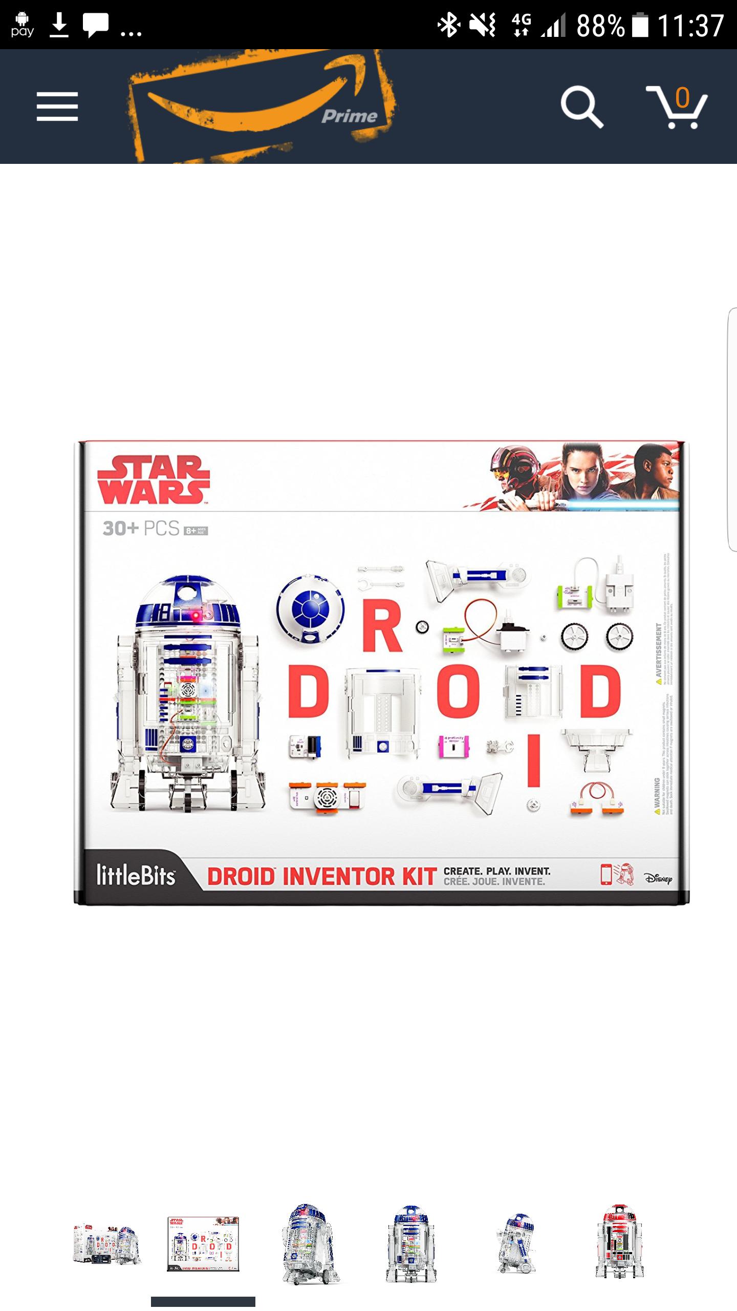 littleBitsStar Wars Droid Inventor Kit £83.56 @ Amazon