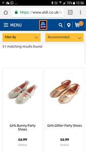 Girls shoes from  £6.99 and boots from  £9.99 at Aldi - available online (free deliv) and in-store