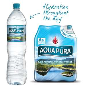 Aqua Pura 6 x 1.5L Pack Only 88p instore @ Tesco Extra (Dundee Riverside)
