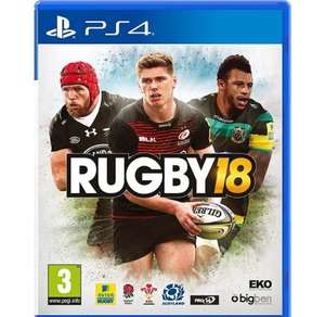 PS4 Rugby 18 £16 Tesco in-store
