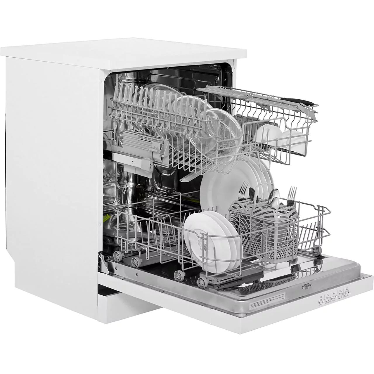 Smeg DF612AEW Dishwasher - White 5 yr warranty £299 AO.com