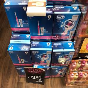 Oral-B 650 electric toothbrush £19.99 @ Superdrug