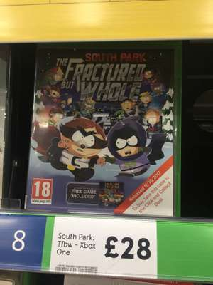 South Park The Fractured But Whole £28 @ Tesco instore