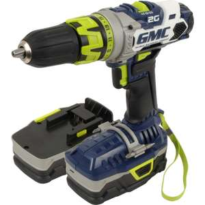 GMC-2G 18V Li-Ion Combi Hammer Drill with 2 x 1.4Ah Li-ion batteries £53.94 @ Toolstation